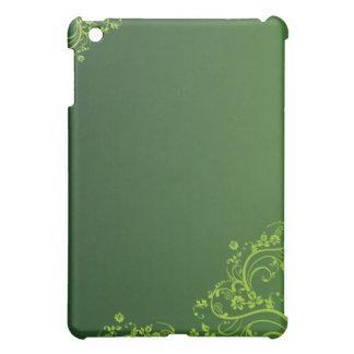 Green swirl ipad Case