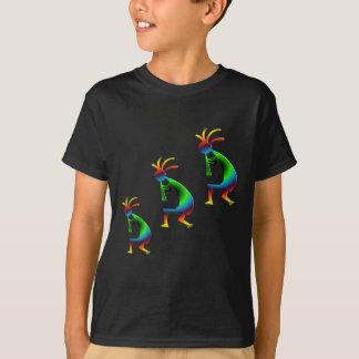 Green Swirl Kokopellis T-Shirt