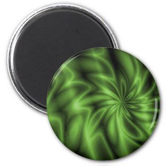 Green Swirl Magnet