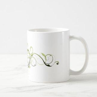 Green Swirl Mug