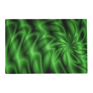 Green Swirl Placemat