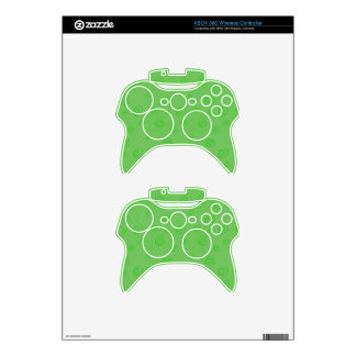Green Swirl Skin for XBox Controller Xbox 360 Controller Decal