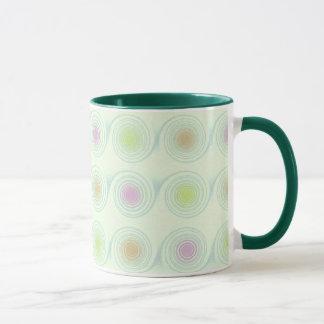 Green Swirls Cup / Mug