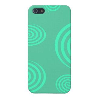 Green Swirls I-pod Touch Case