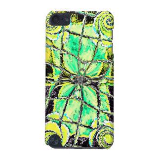 Green Swirls iPod Touch 5G Case