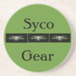 Green Syco Gear coaster