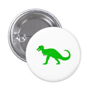 Green T-Rex 1 Inch Round Button