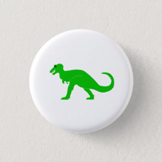 Green T-Rex Button