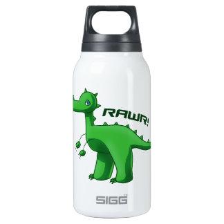 Green T-Rex Insulated Water Bottle