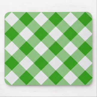 green table cloth mouse pad