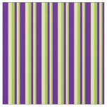 [ Thumbnail: Green, Tan, and Indigo Striped/Lined Pattern Fabric ]