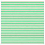 [ Thumbnail: Green & Tan Colored Pattern Fabric ]