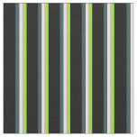 [ Thumbnail: Green, Tan, Lavender, Dark Slate Gray, and Black Fabric ]