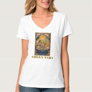 GREEN TARA BUDDHIST DEITY SHIRT