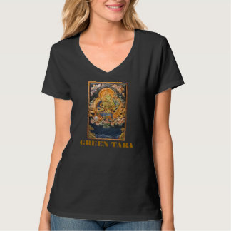 GREEN TARA BUDDHIST DEITY T-Shirt