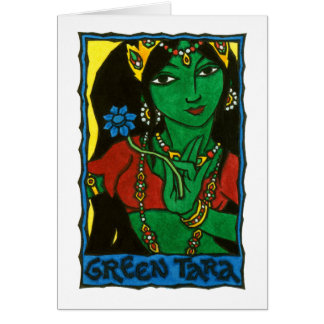 Green Tara Stationery Note Card