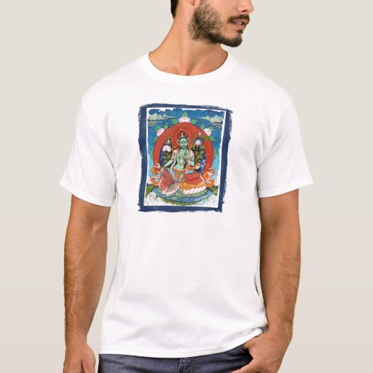 Green Tara Deity T-Shirt