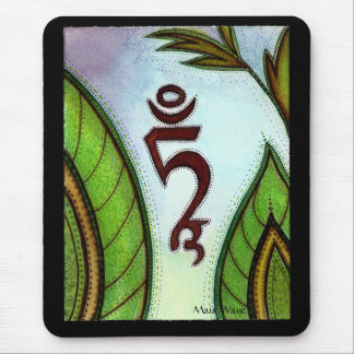 Green Tara Mantra Mouse Pad