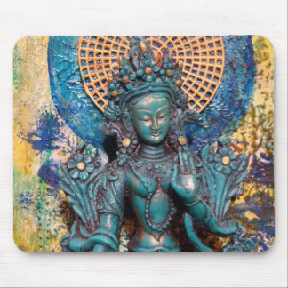 Green Tara Mousepad