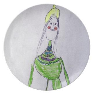 Green Tara Plate