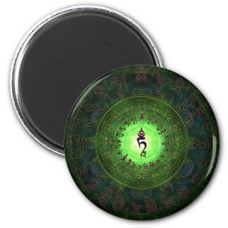 Green Tara - Protection from dangers and suffering Magnet
