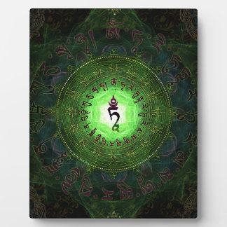 Green Tara - Protection from dangers and suffering Plaque