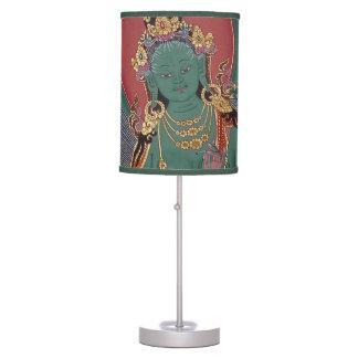 Green Tara Table Lamp