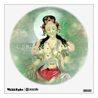 Green Tara Wall Sticker