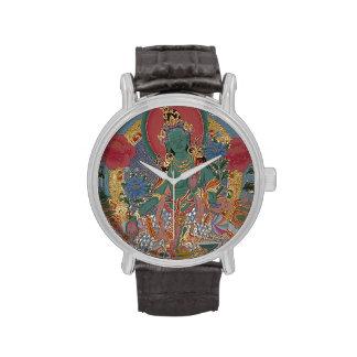 Green Tara Watch
