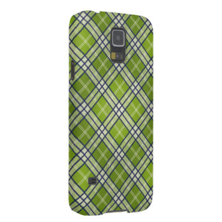 Green Tartan Case For Galaxy S5
