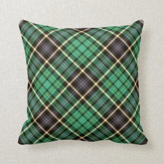 Green Tartan Pillow
