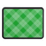 Green Tartan Plaid Hitch Cover