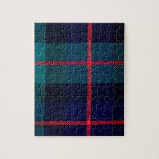 Green tartan puzzles