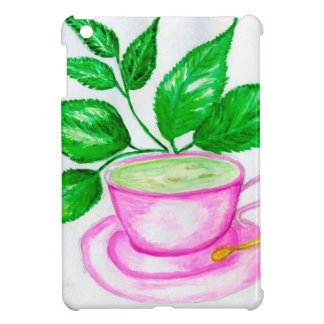 Green Tea Art2 iPad Mini Cover