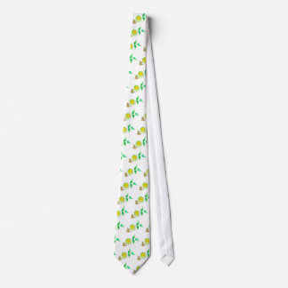 Green Tea Art Tie