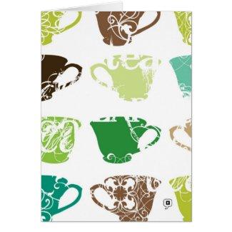 Green Tea card