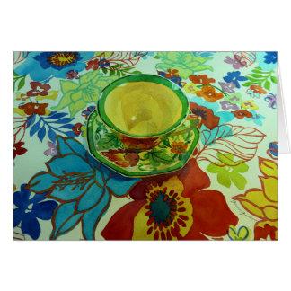 """Green Tea"" Cards"