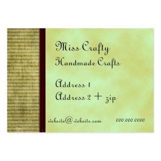 Green Tea Custom Business Card