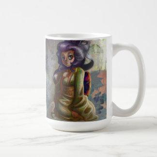 Green Tea Geisha Mug Mugs