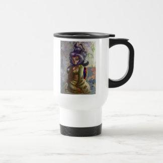Green Tea Geisha Travel Mug Coffee Mug