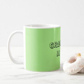 Green Tea is Life Mug