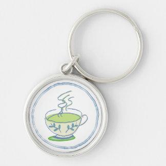 Green Tea Keychain