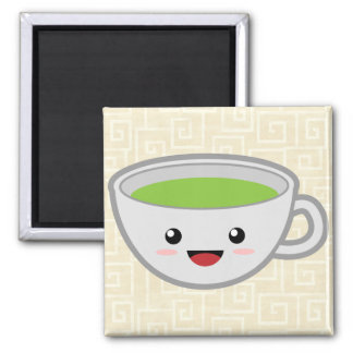 Green Tea Magnet