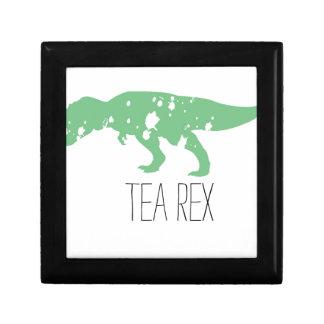 Green Tea Rex Jewelry Box