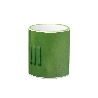 Green Tea Ringer Mug