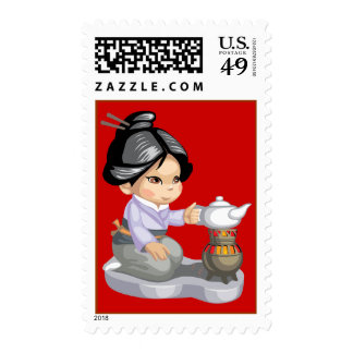 Green Tea Stamps