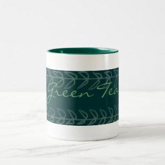 Green Tea- Two-Tone Mug