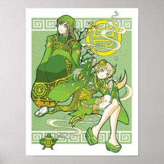 Green Tea Under the Jade Sky poster