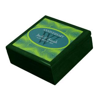 Green+Teal Eternal Anniversary Gift Box