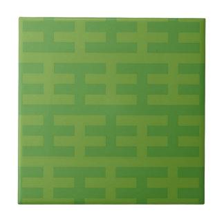 Green Tech Small Square Tile